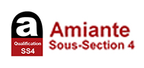 Amiante SS4 Certification